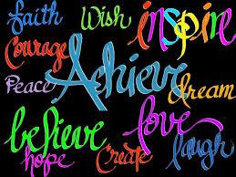 clipart inspirational words digital
