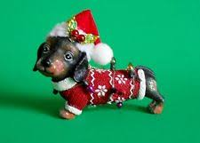 dachshund ornament ebay