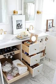 8 easy beautiful ways to organize your bathroom vanities