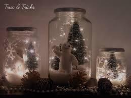 idee village de noel cuisine christmas decoration diy christmas jars idee deco noel