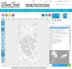 etched glass door design your own tropical etched glass windows and doors