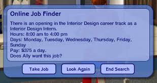Interior Design Job Search by Mod The Sims Interior Design Career