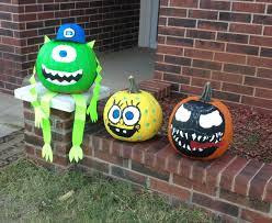 Monsters Inc Halloween my pumpkins pumpkin ideas halloween painting paint pumpkins
