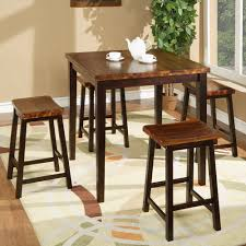 Modern High Kitchen Table With Stools  Housphere - High kitchen table with stools