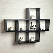 Wall Mounted Bookcase Shelves Mesmerizing Hanging Wall Bookshelves Ideas Best Idea Home Design