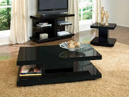 High Gloss Side Table Living Room Contemporary Living Room Table Decorations With