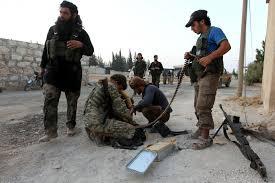 Rebel Syrian Flag Turkey Backs Anti Isis Rebels In Battle For Syrian Border Town