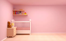 sweet pink baby nursery rooms decoration with rectangular