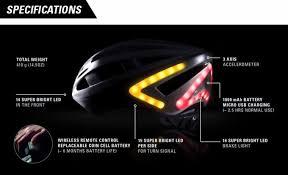 Motorcycle Helmet Lights Lumos A Next Generation Bicycle Helmet By Lumos Helmet U2014 Kickstarter