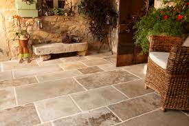 outdoor stone tile flooring decor all about home design