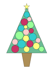 purple christmas tree clip art clip art library