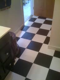 Diy Bathroom Floor Ideas - diy painting old vinyl floor tiles mary wiseman designs