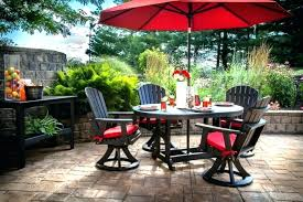 patio table and chairs with umbrella hole small patio set with umbrella imagesfromscott com