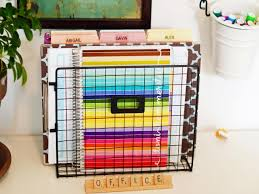 Office Desk Organization Tips 10 Home Office Hacks To Get You Organized Now Hgtv