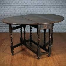 Wood Folding Dining Table Solid Oak Drop Leaf Table Dining Table With Folding Leaf Solid