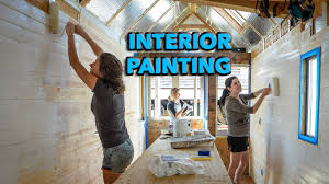 Tiny House Interiors by Tiny House Interior Painting Youtube