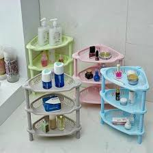 Ikea Bathroom Accessories New Triangle Rack Cosmetic Plastic Kitchen Bathroom Accessories