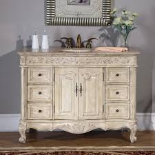 Cottage Style Bathroom Ideas Antique Furniture Style Bathroom Vanity Image Of Astonishing