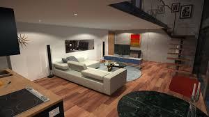loft apartment 2 hd night by richert on deviantart