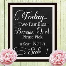 wedding seating signs best wedding ceremony decor products on wanelo