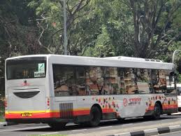 b1 service mercedes smrt buses singapore before gcm bcm mercedes oc500le