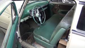 Classic Car Interior Restoration 1954 Chevy Interior Restoration By Cooks Upholstery Youtube