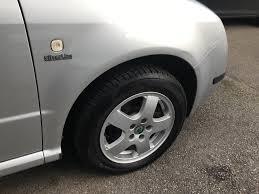 2003 skoda fabia silverline 995