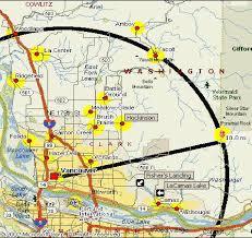 clark map map of clark county wa