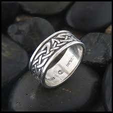 celtic rings celtic knot ring lorn band in sterling silver walker