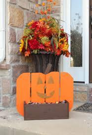wooden pumpkin stand wooden pumpkins