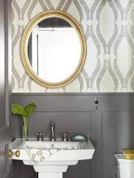 55 best wallpaper bathrooms images on pinterest bathroom ideas
