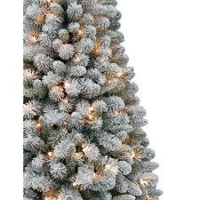 pre lit snowy christmas tree 7ft pre lit snowy christmas twig