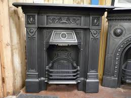 antique victorian cast iron fireplace u0027the scotia u0027 098lc old