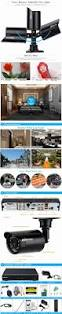 Outdoor Home Audio Systems Kkmoon 4ch 960h D1 Dvr 800tvl Security Camera System Waterproof