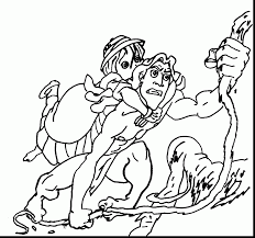 tarzan jane coloring pages tarzan coloring pages