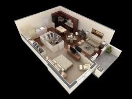 Small 1 Bedroom House Plans by Beautiful 1 Bedroom Apartment Floor Plans With Walk In Closet