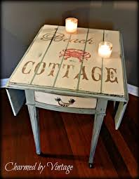 side table paint ideas vintage carved out front end table google search home