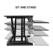 Sit Or Stand Desk by Alcoveriser Standing Desk Converters M7b M7mb Flexispot