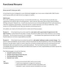resume template for job change sle functional resumes