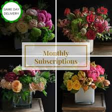 monthly flower delivery monthly weekly flower delivery subscription jardin floral design
