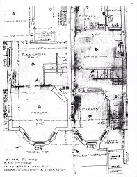 Floor Plan Of A Mansion by The House History Man Dc Building Permits The Rare Original