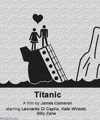 titanic pictogram movie poster pictures freaking news