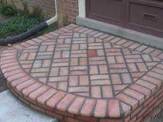 Stone Brick A Brick Patio I Ve Always Liked This Woven Brick Pattern