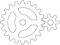 steampunk gear stencil google search u2026 pinteres u2026