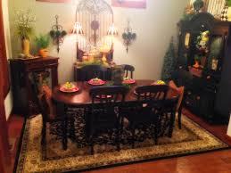 Black Dining Room Hutch by The Tuscan Home Tuscan Dining Room