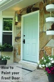 painting front door front door paint ideas pinterest image type exterior brick house