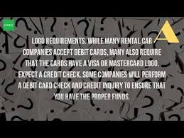 car rentals that accept prepaid debit cards can you use a debit card to rent a car