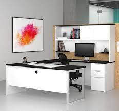 Deep Office Desk U Shaped Office And Computer Desks From Computerdesk Com