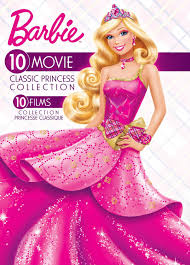 barbie 10 movie classic princess collection bilingual walmart