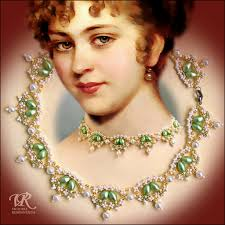 free attern for amazing necklace renaissance beads magic free